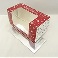 Boîte buche de Noël et planches X 2