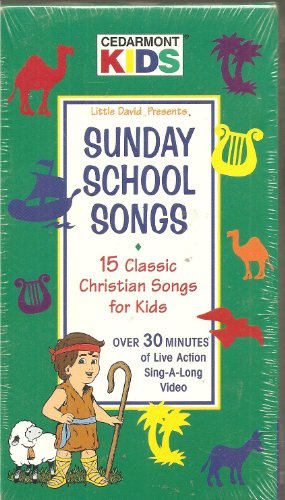 Sunday School Songs: 15 Classic Christian Songs for Kids [VHS] [Import USA]