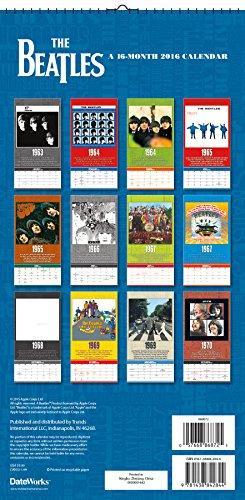 The Beatles 2016 Calendar