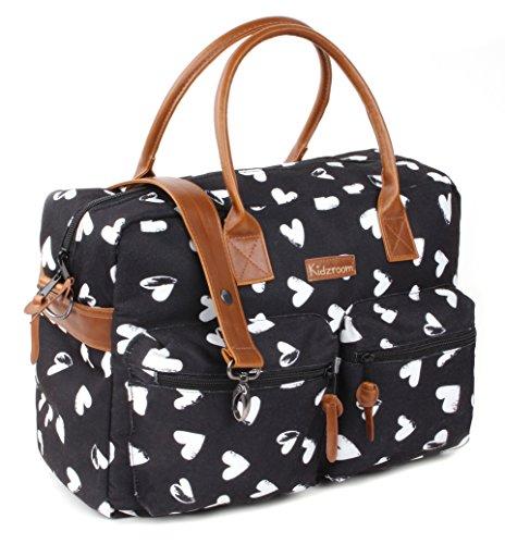 À Sac Couche Fashionable Hearts 030 black 8303 Kidzroom xOqwYZpW