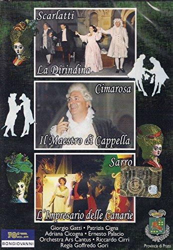 Preisvergleich Produktbild D Scarlatti: La Dirindina; D Cimarosa: Il Maestro di Cappella; D Sarro: L'Impresario delle Canarie - (NTSC,  all regions) [UK Import]