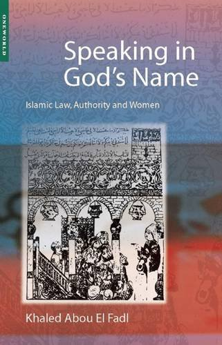 Speaking in God's Name: Islamic Law, Authority and Women (Ds-system Mädchen)