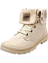 Hombres al aire libre botas altas botas de combate multifunción Desierto de excursión los zapatos