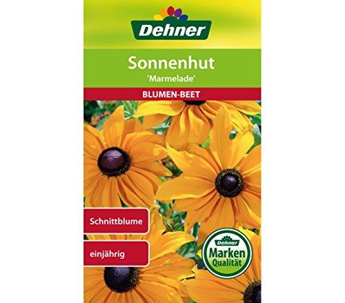 "Dehner Blumen-Saatgut, Sonnenhut ""Marmelade"", 5er Pack (5 x 1 g)"