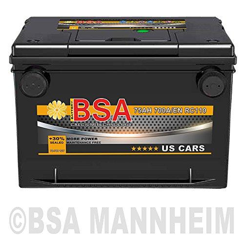 US Autobatterie 75Ah 12V Opel Sintra Chevrolet Cadillac für USA US Car