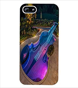 ColourCraft Creative Image Design Back Case Cover for APPLE IPHONE 5