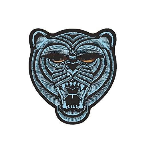 ll Face Maske Tanz Stimme LED-Steuerung-Partei-Schablonen-Maskerade 3D Tiermasken [A05] ()