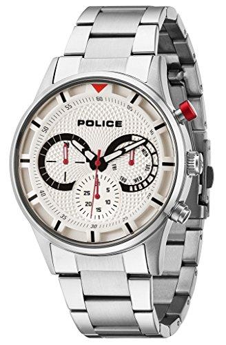 Police Herren-Armbanduhr Analog Quarz P14383JS-04M