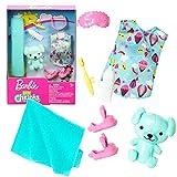 Mattel Set Nachtruhe | für Chelsea Barbie FXN70 | Trend Mode Puppen-Kleidung