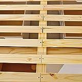 Inter Link Alpine Living Bett Funktionsbett Doppelbett Stauraumbett Bett mit Schubladen Echt Holz Bio Weiss lackiert Vergleich