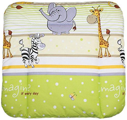 Baby Auflage Wickelauflage - SAFARI GRÜN - 70x50 cm 70x70 cm 70x85 cm Wickeltischauflage 70x50 cm 70x85 cm