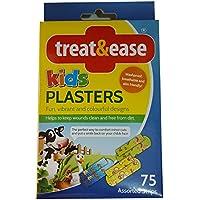 Preisvergleich für 75 x Spass Kinder Pflaster Band Hilfe Wasserdicht Atmungsaktiv & Hautfreundlich