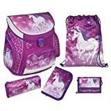 Scooli UNFI8252 Schulranzen Campus Up Magical Unicorn, Modell 2017
