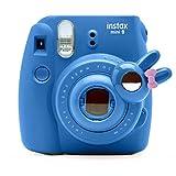 Lindo conejito para selfi, objetivo macro y espejo para cámara instantánea Fujifilm Instax Mini8 Mini7 de Hello Kitty.