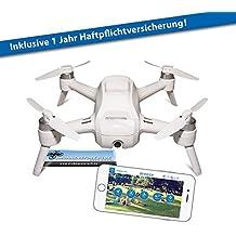 YUNEEC Breeze Drohne inkl. Haftpflichtversicherung Quadrocopter Neuheit 2016
