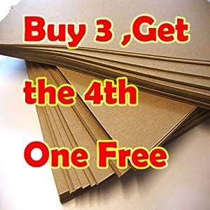 PrinterKnow Lot de 50 feuilles de papier kraft pour cartes et invitations de mariage Compatibles avec imprimantes laser et à jet d'encre Format A4 300 g/m²