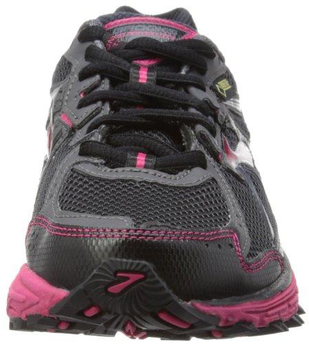 Gtx de Black Anthracite Bright Noir W 10 femme Chaussures Adrenaline Rose course Brooks Asr Snp1ZY
