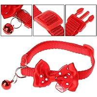 A0127 - Cuello de Seguridad Ajustable para Mascotas, Gatos, Perros, Cachorros y Mascotas con Cascabel
