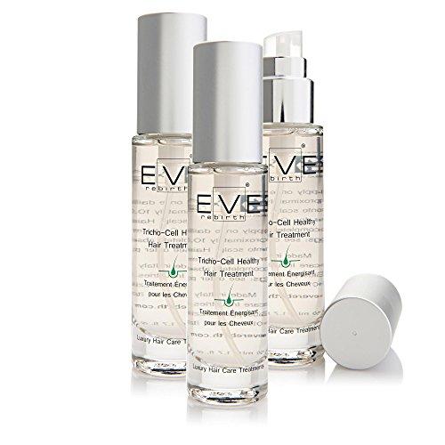 EVE REBIRTH Traitement Energisant pour Cheveux 60 Jours de Traitement (Set de 3), 50 ml