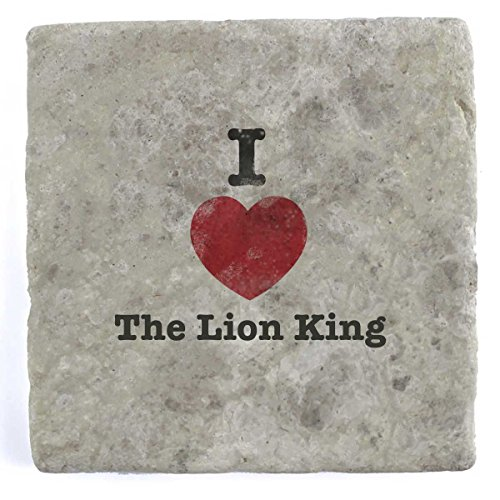 (My Personal Product I love the Lion King–Marble Tile Drink Untersetzer)