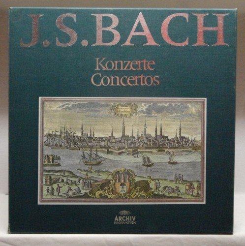 J. S. Bach (Gesamtausgabe, Vol. 5): Konzerte [Vinyl Schallplatte] [11 LP Box-Set] -