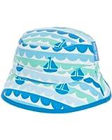 Toby Tiger Girl's Boat Reversible Sunhat Hat