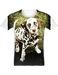 Tanktop f/ür Damen und Frauen Tops Shirtracer Hunde Dalmatiner