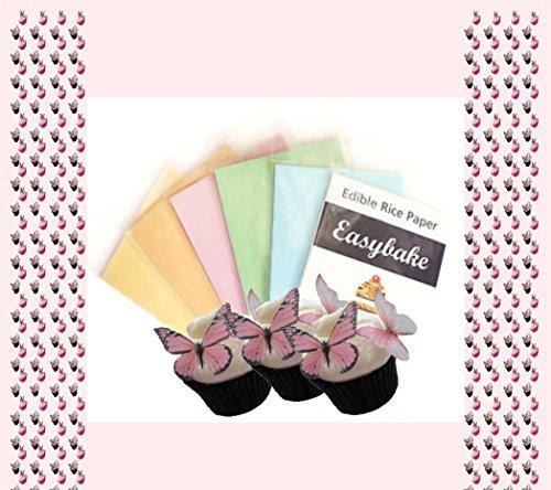 easy-bake-bedruckbar-essbares-reispapier-72-blatt-pack-sortiert-weiss-blau-grun-pink-orange-gelb