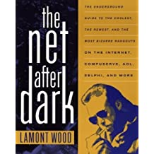 The Net After Dark: The Underground Guide to the Coolest, the Newest and the Most Bizarre Hangouts on the Internet, Compuserve, AOL, Delphi and More by Lamont Wood (1994-12-12)