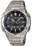 Casio WVA-M650TD-1AER Wave Ceptor  - Wristwatch men's, Titanium, Band Colour: Silver