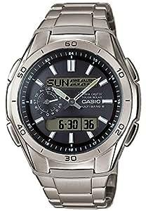 Casio Herren-Armbanduhr Funkuhren Analog – Digital Quarz Titan WVA-M650TD-1AER