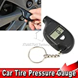 Tyrepro Mini LCD Digital Tire Air Pressure Gauge Keychain for Car Auto Motorcycle