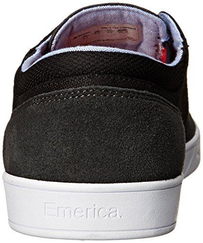 Emerica Figueroa, Scarpe da Skateboard da Uomo Dark Grey/Black/White