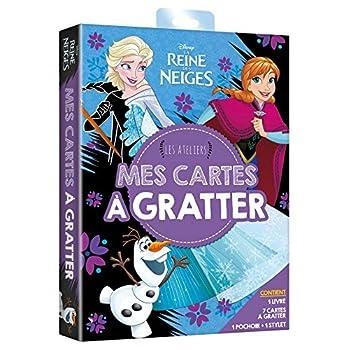 LA REINE DES NEIGES - Pochette Les Ateliers - Mes cartes à gratter - Disney