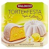 Balocco Torten Pasquale Sahne Zitrone und Puderzucker 400 GR - Festliche Kuchen Zitrone Desire - Frischer Osterkuchen und zarte natürliche