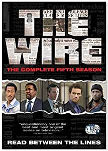 The Wire: Complete HBO Season 1-2-3-4-5 [EU-Import]