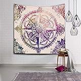 QLIYT WandteppicheTapisserie Indische Mandala Tapisserie Wandbehang Tapisserien Boho Tagesdecke Yoga Matte Decke Bett Tischdecke