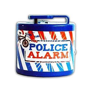 Anik-Shop FAHRRADKLINGEL Elektrisch Polizei Feuerwehr Alarm Sirene Fahrrad Klingel Glocke Kinder 16 (Police Alarm, Blau)