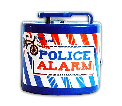 Anik-Shop FAHRRADKLINGEL Elektrisch Polizei Feuerwehr Alarm Sirene Fahrrad Klingel Glocke Kinder 16 (Police Alarm, Blau) - Fahrrad-polizei