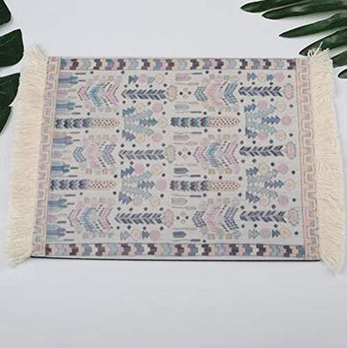 SUCAN 28 cm x 18 cm Baumwolle Stil der Boemia Maus Pad Teppich Perseren für Notebook Desktop 4 -