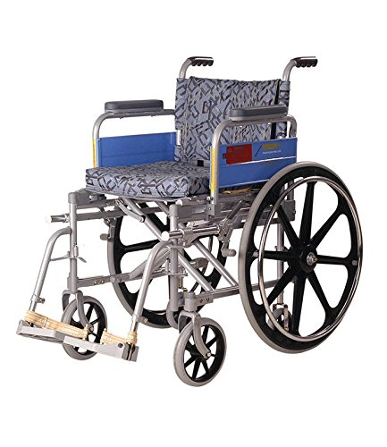 Vissco Invalid Wheel Chair - Deluxe / Folding / Mag Wheels