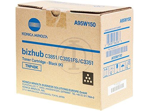 Konica Minolta A95W150 - Toner TNP-49K | 13000 Pages | Black | Bizhub C3351 C3851 C3851FS