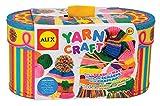 Alex- 128N-5 Kit per Imparare Il Lavoro a Maglia per Bambini, Multicolore