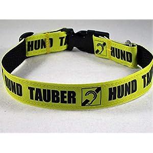 """Halsband""""Tauber Hund"""" bis 40 cm Halsumfang"""