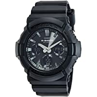Casio G-Shock Analog-Digital Black Dial Men's Watch - GAS-100B-1ADR (G772)