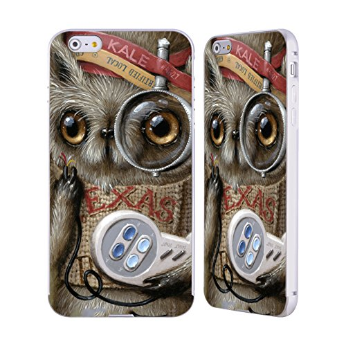 Ufficiale Jason Limon Refusuffix 04 Animali Argento Cover Contorno con Bumper in Alluminio per Apple iPhone 6 Plus / 6s Plus Refusuffix 07