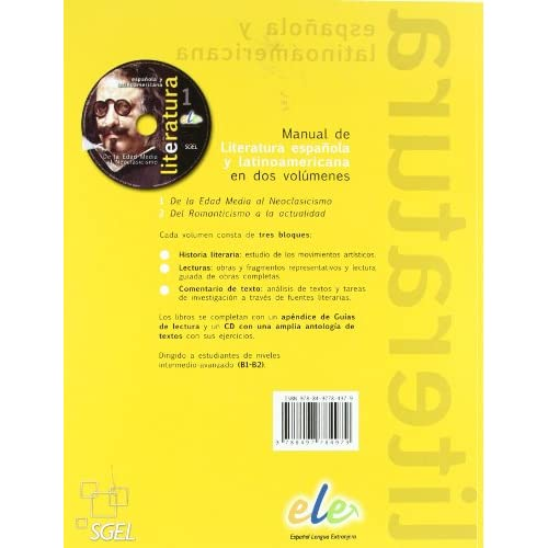 Literatura Espanola Y Latinoamericana. Con Cd Audio. Per Le Scuole Superiori: 1