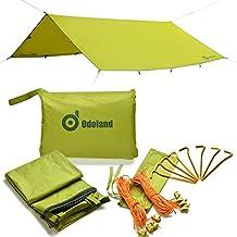 Tenda da campeggio Tarps, ODOLAND Parasole Tarp Shelter Beach Shelter impermeabile, impermeabile parasole Tenda Pioggia Fly Tenda Tarp, Camping Tarp, Shelter Tarp