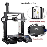 Creality3D Ender 3 Pro 3D printer with magnetic hot bed by technologyoutlet