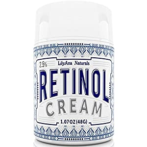 Retinol Cream Moisturizer for Face and Eyes, Use Day and Night – for Anti Aging, Acne, Wrinkles – made with Natural and…
